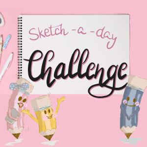 Sketchbuch Challenge Regina Dambeck Musterdesign